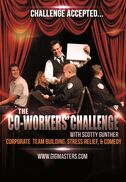 Chicago, IL Motivational Speaker | Co-Workers Challenge:Team building & stress relief