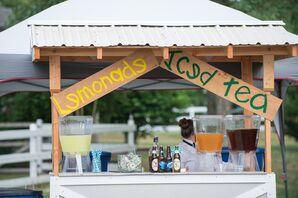 Signature Cocktail Lemonade Stand