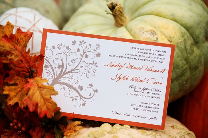 Whimsical Tree Wedding Invitations