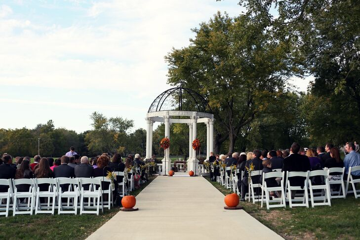 An Outdoor Ceremony at Belvoir Winery