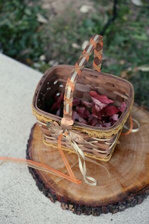 Simple Flower Girl Basket