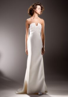 Viktor&Rolf Mariage SCULPTURAL WRAP DRAPE Sheath Wedding Dress
