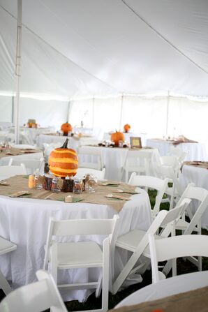 A Tented Reception at Belvoir Winery