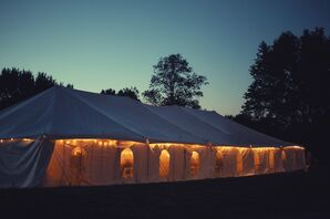 A Tented Reception in Liberty, Missouri