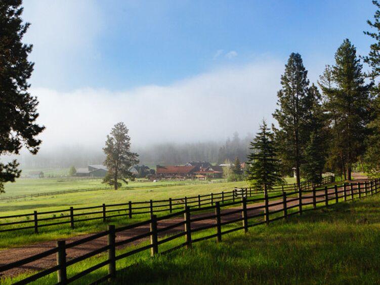 Remote honeymoon destination in Montana
