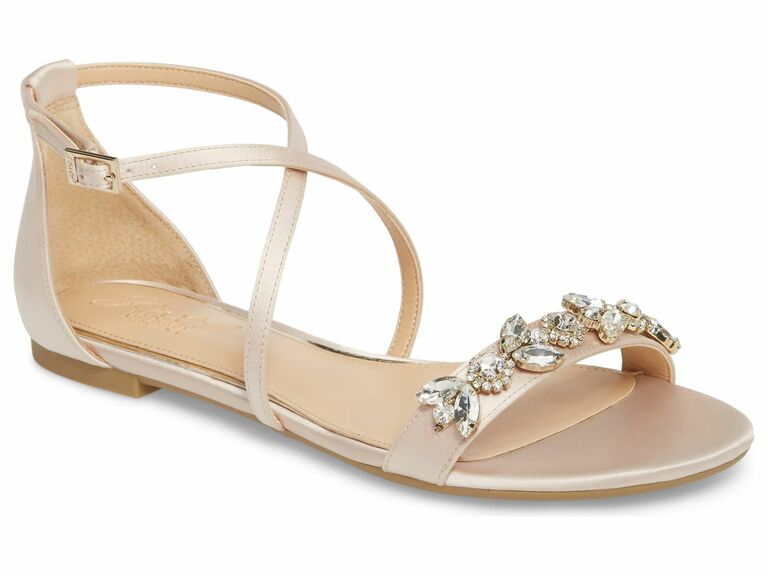 champagne sandals