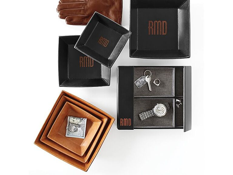 Mark Graham Leather Valet Engagement Gift Ideas