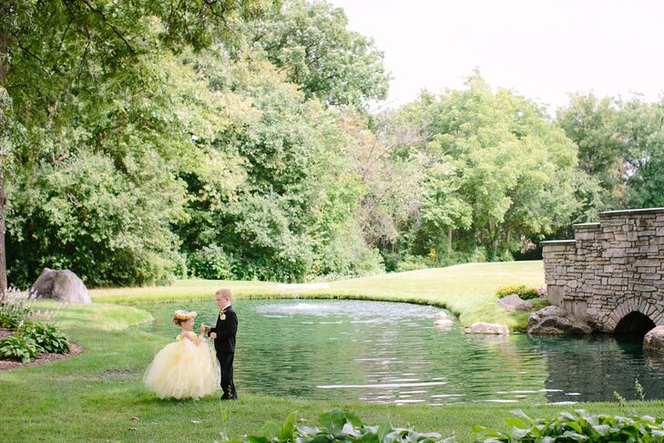 Flower Girl and Ring Bearer at Stonebridge Country Club