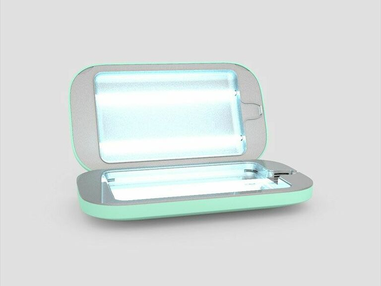 Phonesoap mint green phone sanitizing device gift for wife