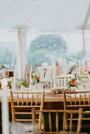 Sole East Tented Reception
