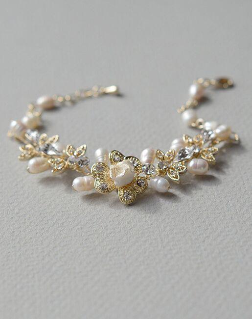 USABride Petite Flower Pearl Bracelet (JB-4826) Wedding Bracelets photo