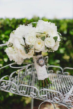 Romantic Garden Bridal Bouquet
