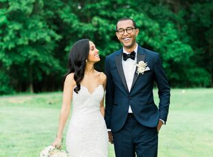 Physicians Ismaela Teferi and Simon Atena wrote their wedding as a love letter to their Ethiopian heritage—but with a few modern Western twists. The c
