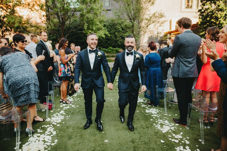 "Planning a wedding that was reflective of their relationship and unique personalities was of utmost importance to Toby Camilleri and Joey Donovan. ""Wh"