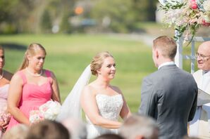 Exchanging Vows at Wentworth by the Sea