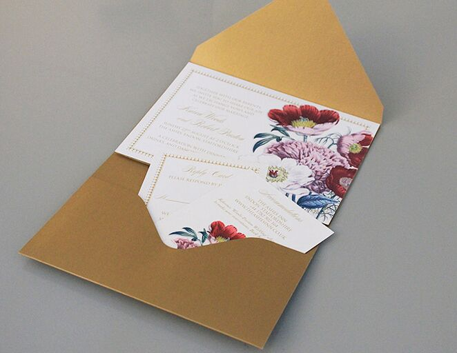 wedding invitation templates that are cute and easy to make the