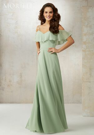 4ffc9beace Morilee by Madeline Gardner Bridesmaids 21509 Off the Shoulder Bridesmaid  Dress