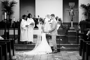 Classic Indoor Church Ceremony Photo