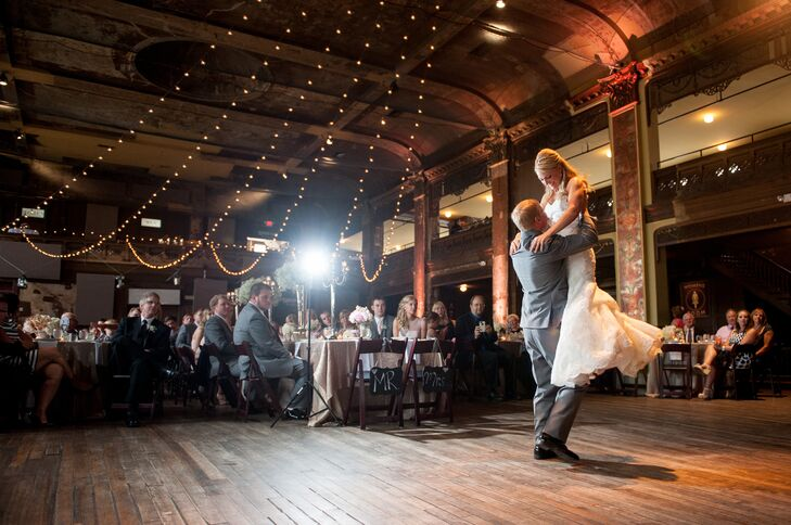Amber and Andy First Dance