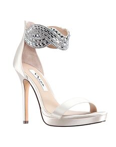Nina Bridal Fayth_Ivory Satin Ivory Shoe