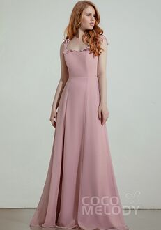 CocoMelody Bridesmaid Dresses RB0323 V-Neck Bridesmaid Dress