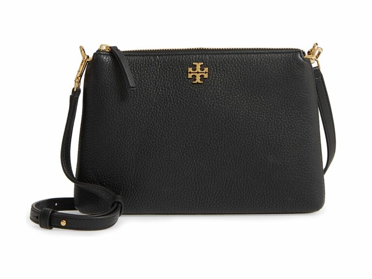 black Tory Burch crossbody purse 17th anniversary gifts