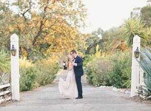 Romantic serenity at its finest. In the Santa Monica Mountains in Calabasas, California, Audrey Ley (28 and a digital director at Us Weekly) and Matt