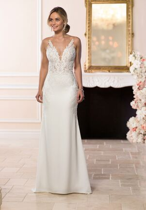 a11e3d75063 Stella York 6648 Sheath Wedding Dress