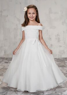 Mary's Angel by Mary's Bridal MB9001 Ivory Flower Girl Dress