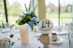 Baseball Table Numbers