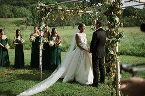 Rustic Birch Wedding Arch