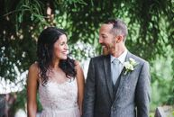 In the days before Stephanie Hernandez (31 and a booking agent) and Kyle Griffith's (34 and an archaeologist) rustic wedding at the beautiful Green Mo