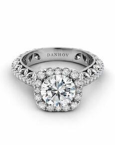 Danhov Round Cut Engagement Ring