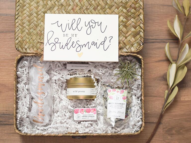 Bridesmaid Proposal Ideas Will You Be My Bridesmaid Delivery Gifts