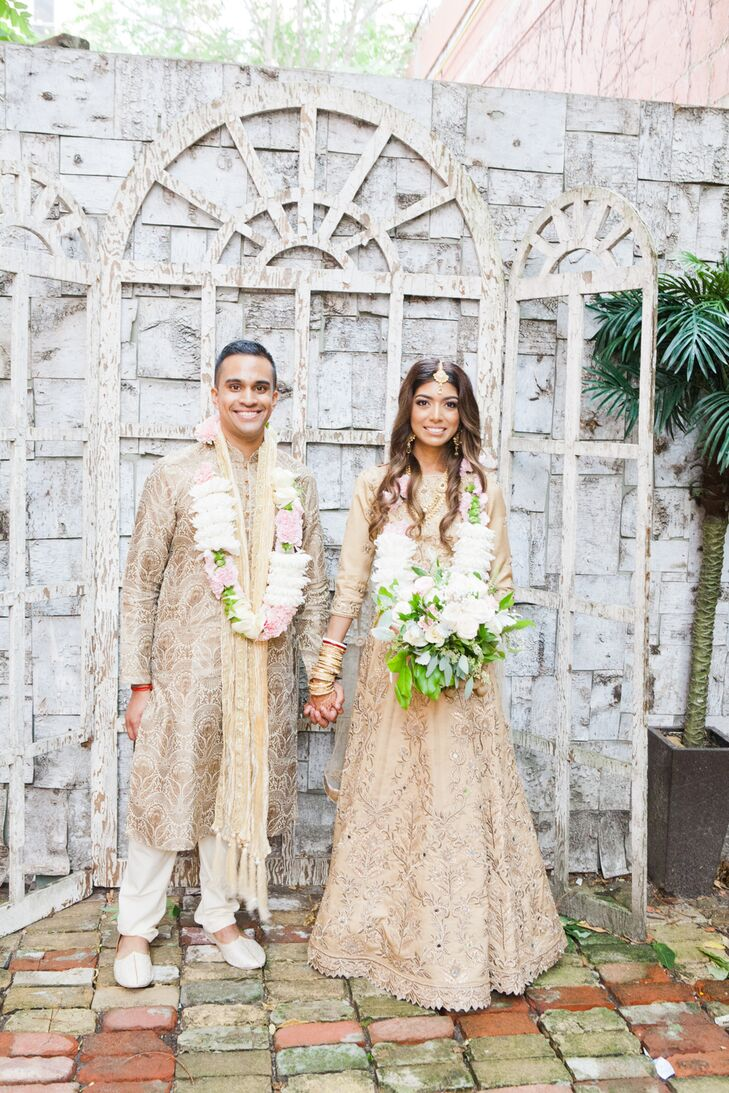 """For their late summer wedding in Toronto, Rubina Sobhee and Arjun Basu planned a fun-filled Hindu fete laced with tradition and glamour.<br><br>""""We wa"""