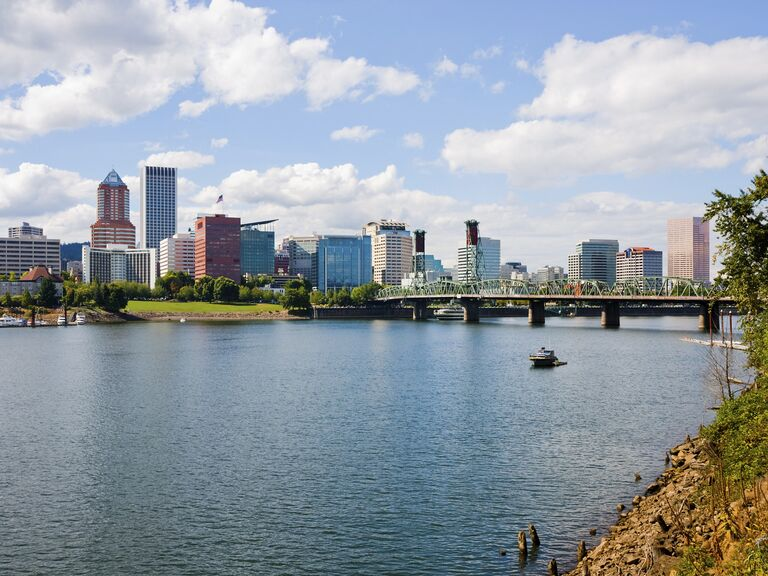 Portland Oregon honeymoon destination