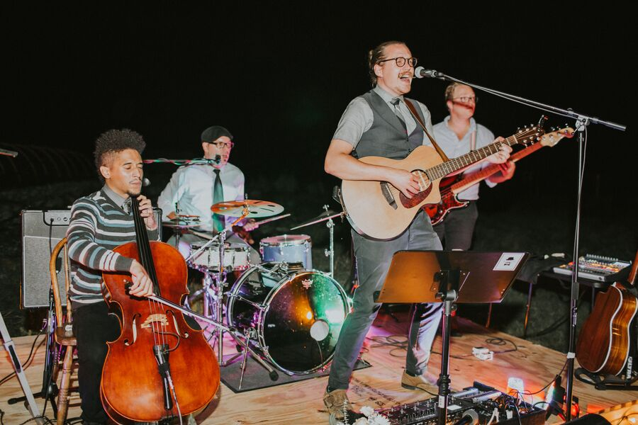 The Dapper Gents - Caswell Farm Wed