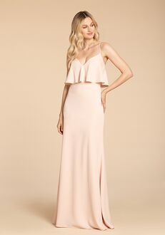 Hayley Paige Occasions 5956 V-Neck Bridesmaid Dress