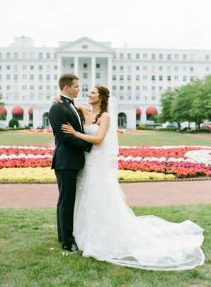 Classic Couple at The Greenbrier in White Sulphur Springs, West Virginia