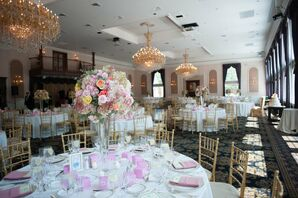 Pastel Reception Decor