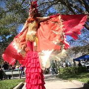 Pinellas Park, FL Fire Dancer | KC Allen - Fire Artist, Stilt walker, Entertainer