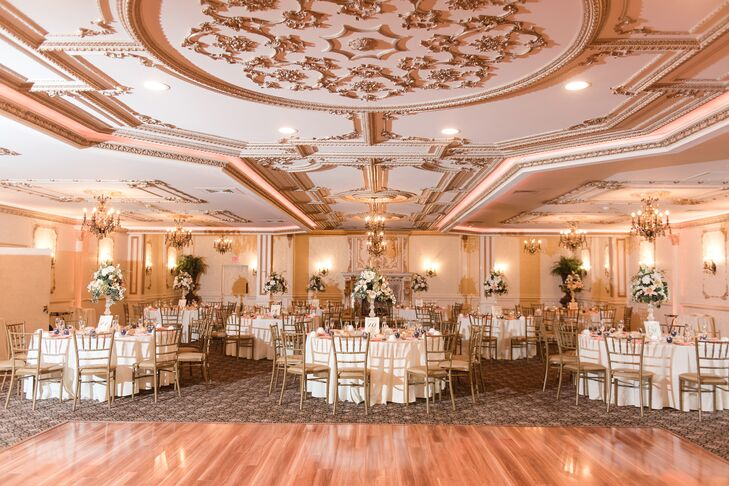 Glamorous Ballroom at Brigalias in Sicklerville, New Jersey