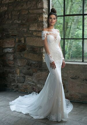 Sincerity Bridal 44059 Sheath Wedding Dress