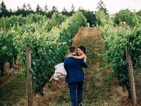 Winery wedding venue in Gaston, Oregon.