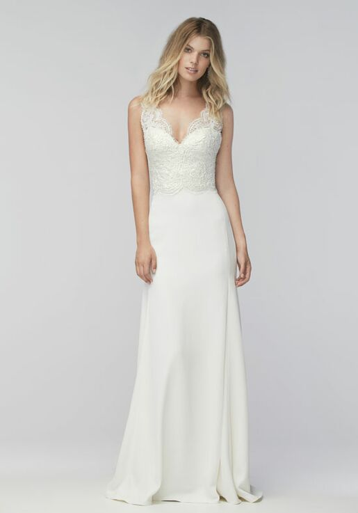 Sheath Wedding Dress.Thandie 16593p