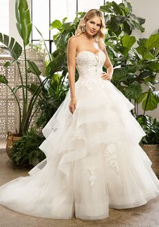 Beloved by Casablanca Bridal BL323 Everlee Ball Gown Wedding Dress