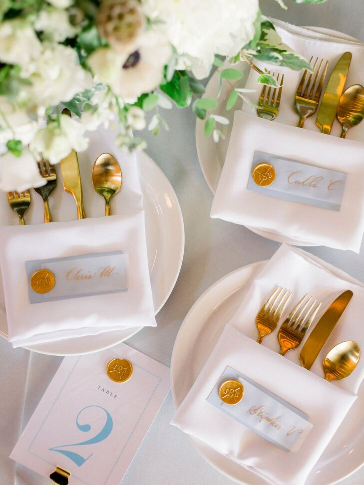 Gold Flatware for Wedding in Fayette, Missouri