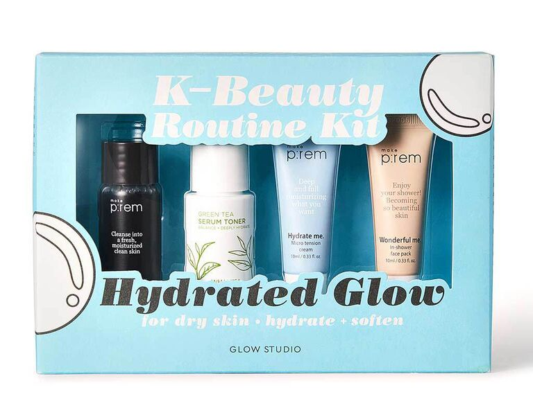 ​Glow Studio hydrated glow trial kit affordable bridesmaid gifts
