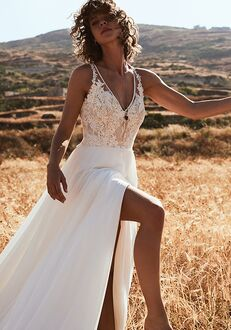 Lillian West 6515 A-Line Wedding Dress