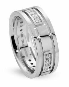 TRUE KNOTS True Man - DW307 Palladium, Platinum, White Gold Wedding Ring